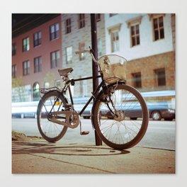 City Bicycle Canvas Print