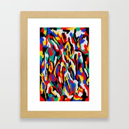 BAUHAUS CAMOUFLAGE Framed Art Print