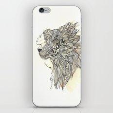 animalia lion iPhone & iPod Skin