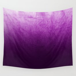 Purple Watercolor On Cotton Wall Tapestry
