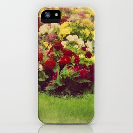 Vintage Pretty Flowers iPhone Case