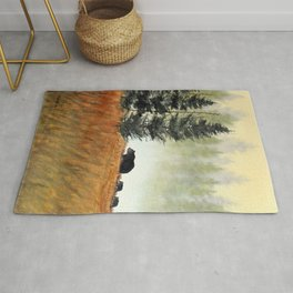 Roaming Bears In West Virginia Rug