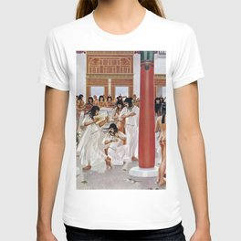 """Classical Masterpiece """"The Court of Pharaoh and the High Priestess"""" by H.M. Herget T-shirt"""