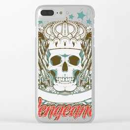 Vengeance Will be Mine Clear iPhone Case