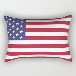 USA flag Rectangular Pillow