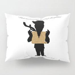 First Amendment Ripped Pillow Sham