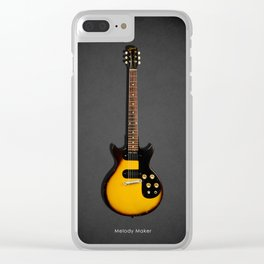 The Melody Maker Guitar Clear iPhone Case