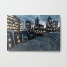 London on the roofs Metal Print