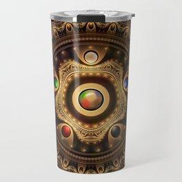 Gathering the Five Fractal Colors of Magic Travel Mug