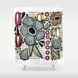 7225 Collection #1 Shower Curtain