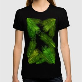 Leaf art pattern T-shirt