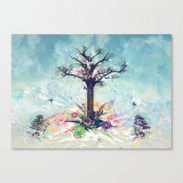 Saint-Tree Canvas Print