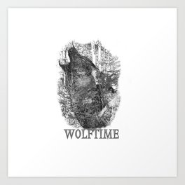 Time of the Wolf Art Print