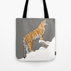 The Wild Ones: Siberian Tiger (illustration) Tote Bag