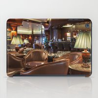 bar iPad Cases featuring Lounge Bar by Deborah Janke