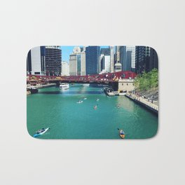 Chicago River Kayaks Bath Mat