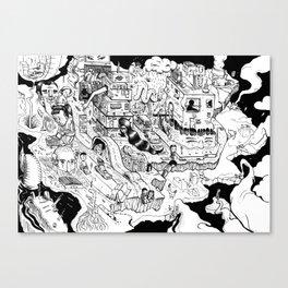 Rubber Neck Canvas Print