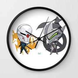 Cyborgs Unite Wall Clock