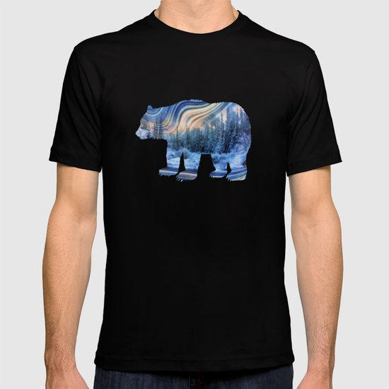 Surreal winter forest T-shirt
