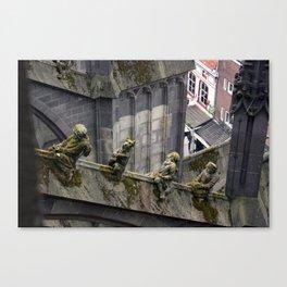 Creatures of Jheronimus Bosch Canvas Print