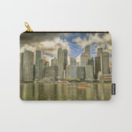 Singapore Marina Bay Sands Art Carry-All Pouch