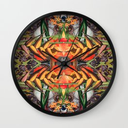 Concrescence Wall Clock
