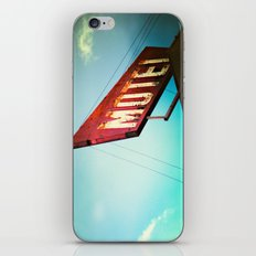motel schmotel iPhone & iPod Skin