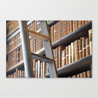 library Canvas Prints featuring Library by Chris Kavs