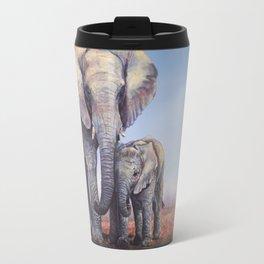 Elephants Mom Baby Travel Mug