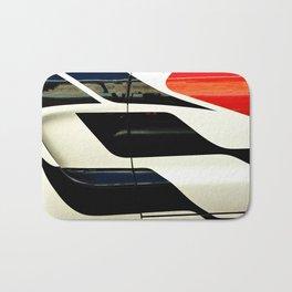 Car Door Geometric Abstract Bath Mat