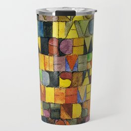 Paul Klee Once Emerged from the Gray of Night Travel Mug