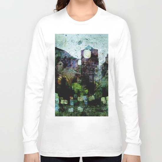 In the Castle Courtyard Long Sleeve T-shirt
