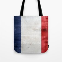 france Tote Bags featuring France by Arken25