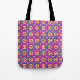 Gearwheels pattern Tote Bag
