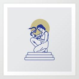 PHILIPPA Art Print
