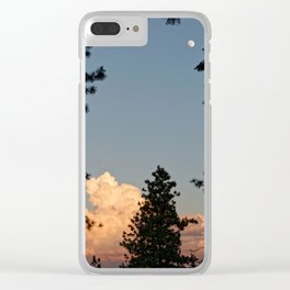 I Don't Really Mind Clear iPhone Case