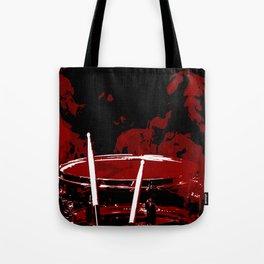 RED SMOKE DARK Tote Bag