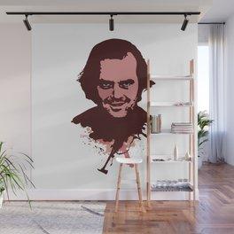 Jack Torrance   cult horror vintage Wall Mural