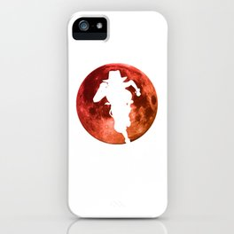 Anime Manga Ace Moon Shirt iPhone Case