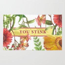 You Stink Rug
