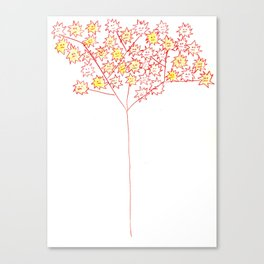 Autumn Treemonsters Canvas Print