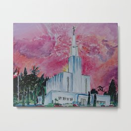 Bern Switzerland LDS Temple Metal Print