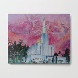 Bern Switzerland LDS Temple Metal Print