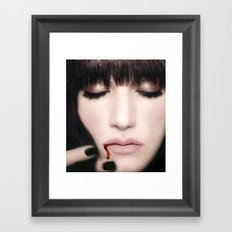 I must be dying Framed Art Print