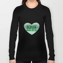 Stripey Mint Long Sleeve T-shirt
