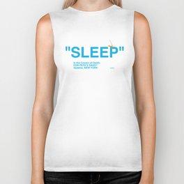 """""""SLEEP"""" Biker Tank"""