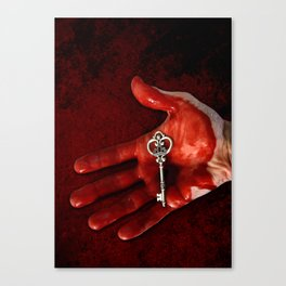 The Key to Your Heart Canvas Print