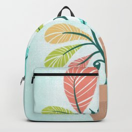 Potted Plant Backpack