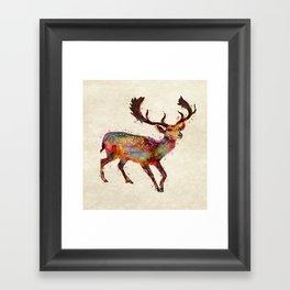 Oh deer ! Framed Art Print
