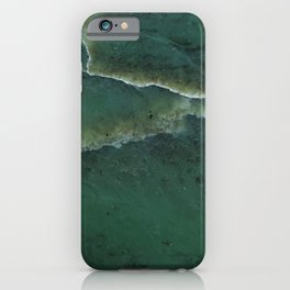 Green pounamu iPhone Case